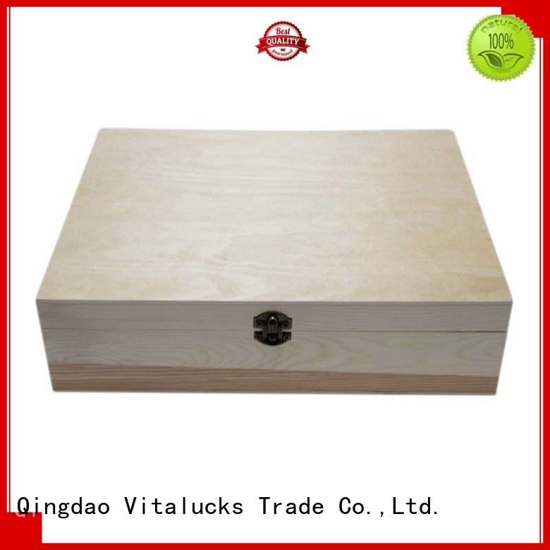 customized custom wooden boxes wholesale latest design