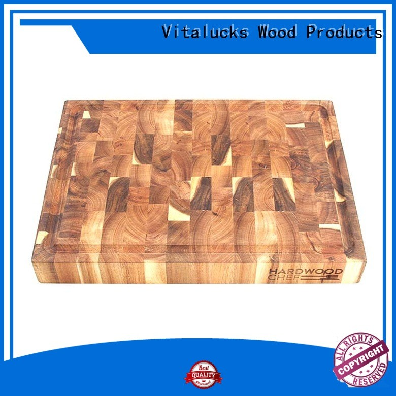 promotional large wood cutting board custom best factory price Vitalucks