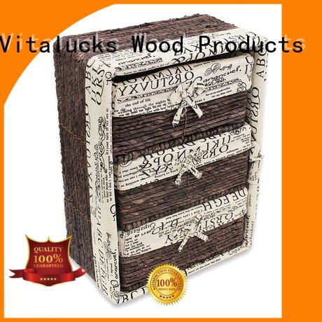 square woven baskets oem&odm fast delivery Vitalucks
