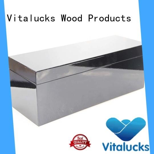 wooden gift boxes bulk for pakaging Vitalucks