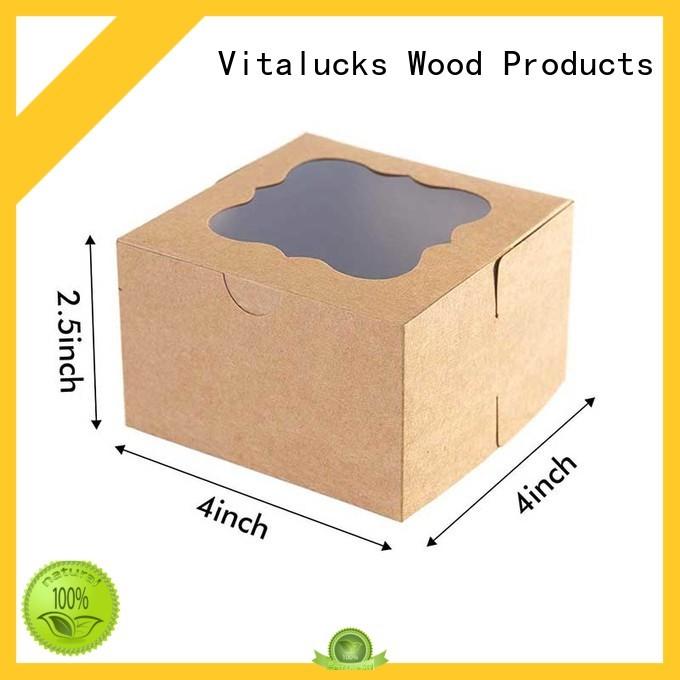 Vitalucks reusable custom packaging boxes wholesale for storage