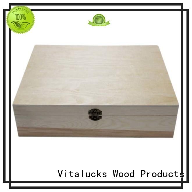 Vitalucks wooden gift boxes bulk fast delivery