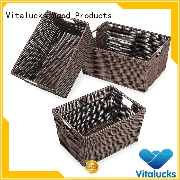 Vitalucks large storage basket oem&odm free -sample