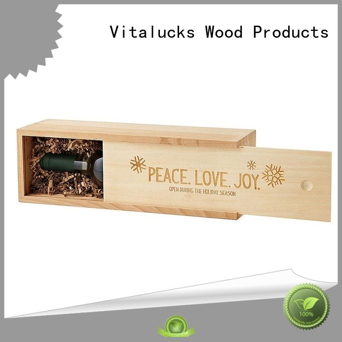 Vitalucks wooden crate box at discount