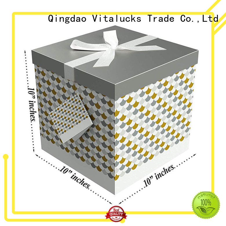 Vitalucks cardboard display boxes for wholesale