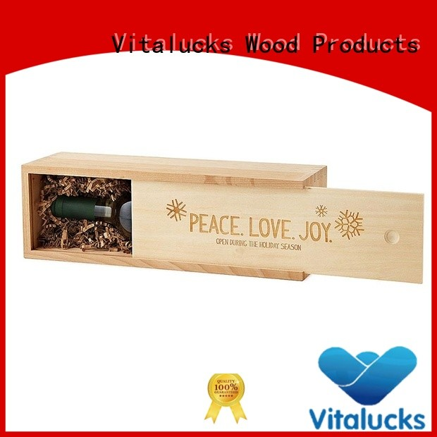 unique design wooden gift box top-selling fast delivery Vitalucks