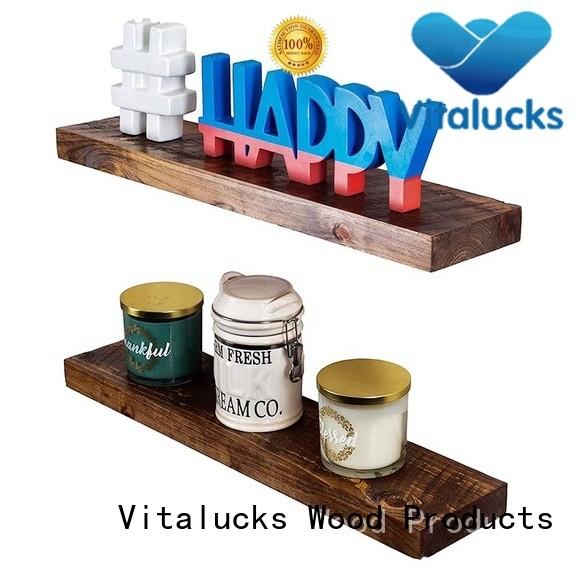 Vitalucks wooden coat hooks wall mounted vintage