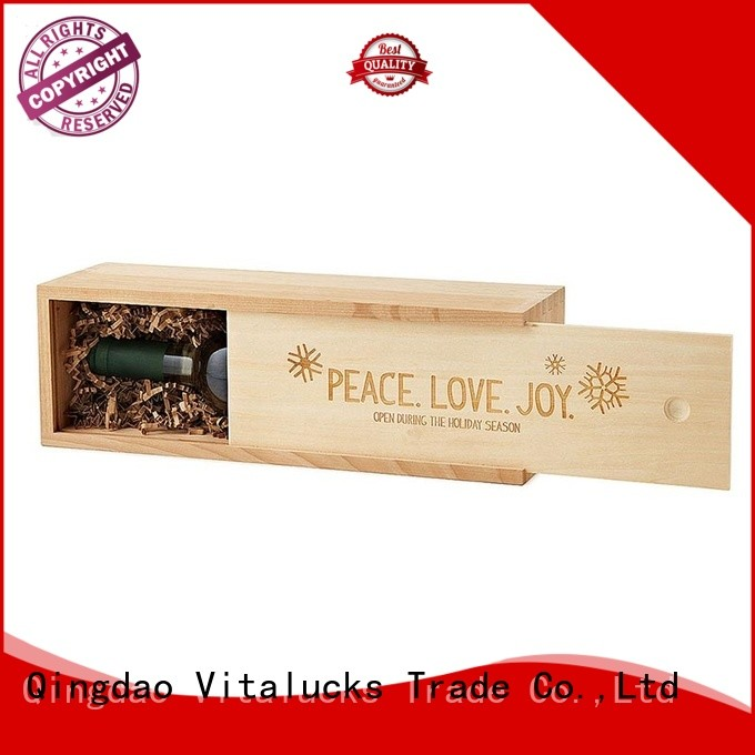 Vitalucks best price large wooden box OEM&ODM at discount