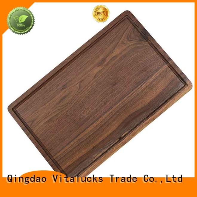 Vitalucks top-selling core bamboo cutting board work of art