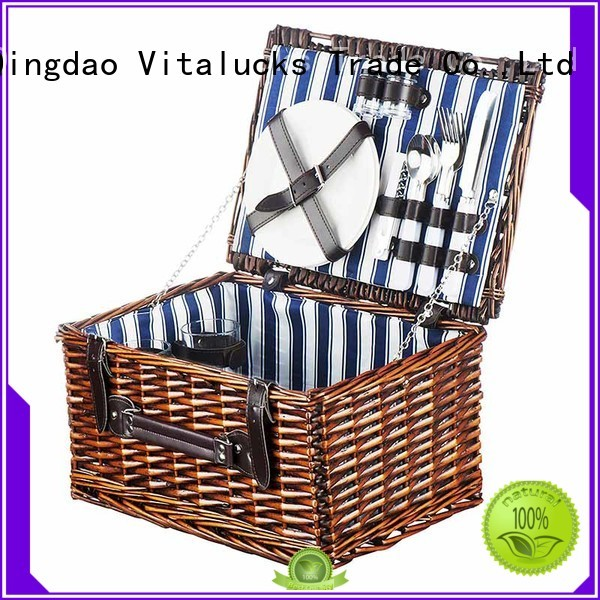 Vitalucks durable small wicker storage baskets at discount