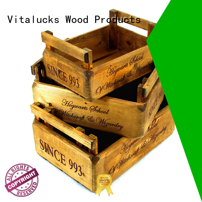 fine workmanship wooden crate popular fast delivery