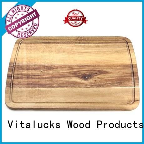 OEM &ODM bamboo cutting board set for wholesale Vitalucks