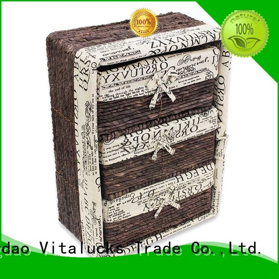 Vitalucks paper rope basket favorable price manufacturing