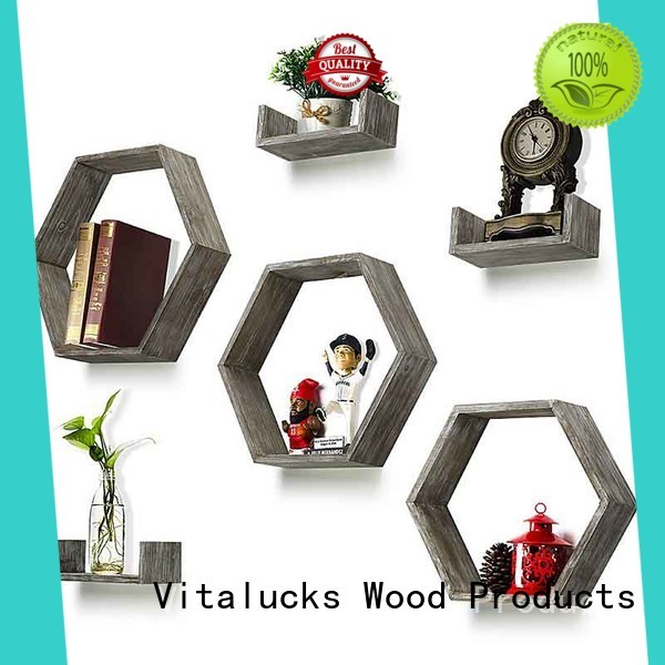 Vitalucks wall decor wood shelves vintage