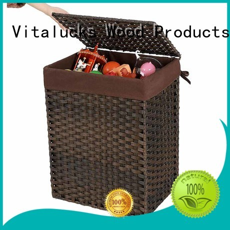 large small wicker storage baskets popular free -sample Vitalucks