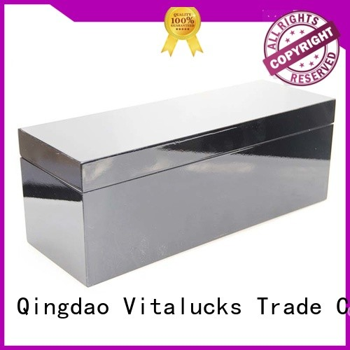 customized bulk unfinished wood boxes at discount Vitalucks