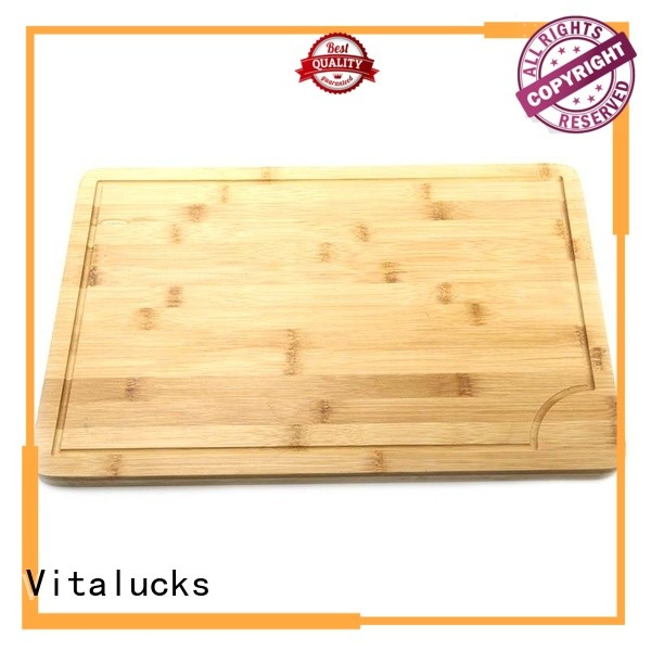 Vitalucks wooden chopping board set stain-resistant best factory price