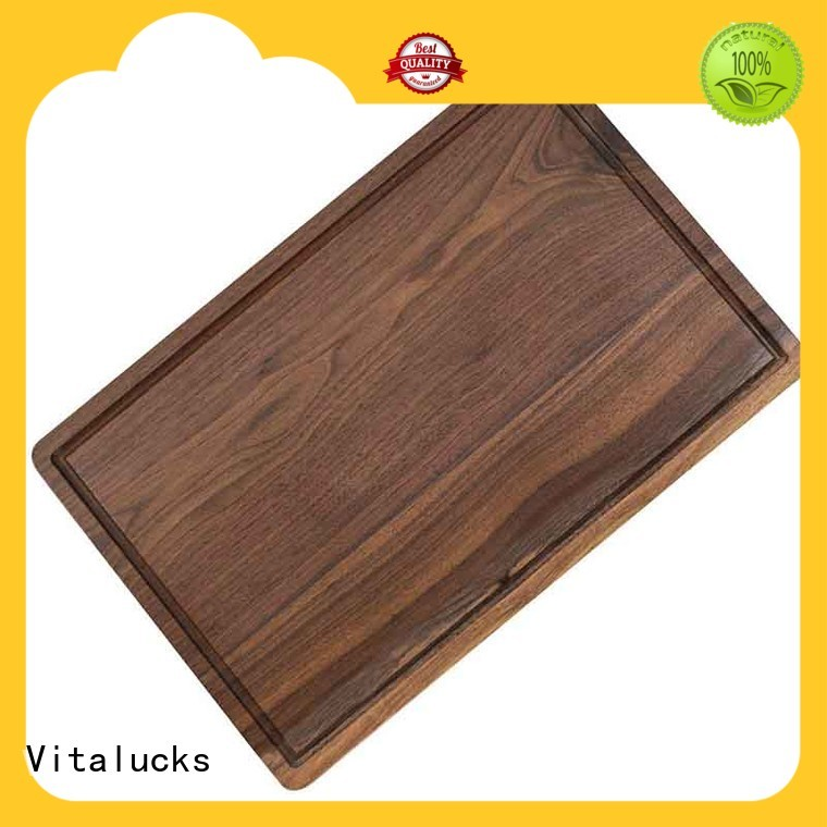 Vitalucks wood cutting board for meat durable for wholesale