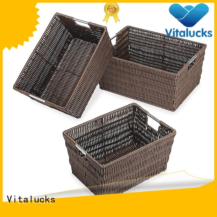 Vitalucks storage baskets with lids multi-functional fast delivery