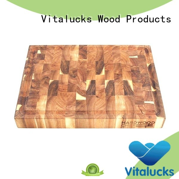 Kitchen wood cutting boards Natural wood  High Quality