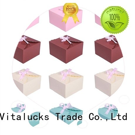 Vitalucks recycled cardboard display boxes chemical-free free sample