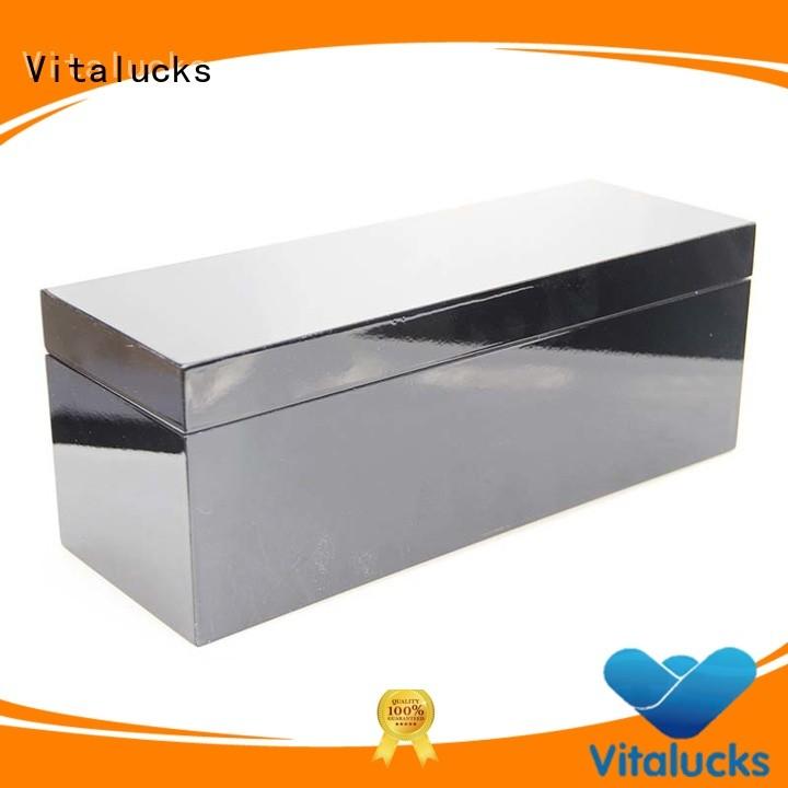 plain wooden box for pakaging Vitalucks