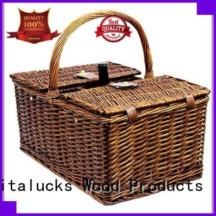 fine workmanship custom basket durable customization