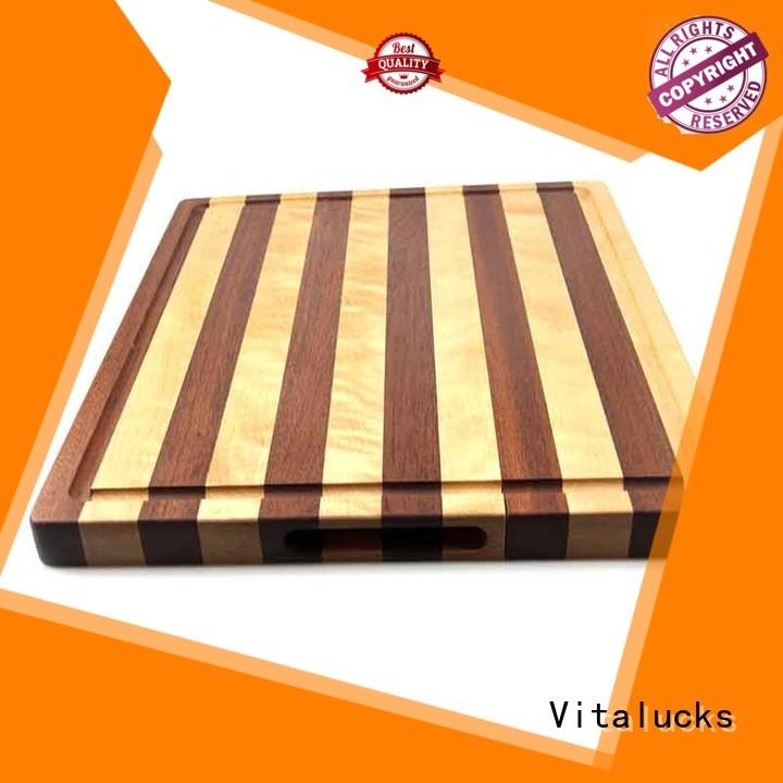 Vitalucks OEM &ODM custom wood cutting boards best factory price