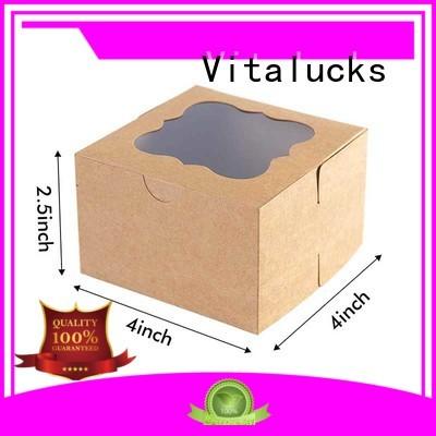 Vitalucks reusable cardboard packaging boxes wholesale for storage