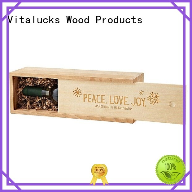 unique design wooden gift boxes wholesale for pakaging