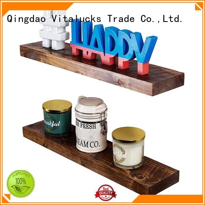 Vitalucks custom floating shelves great technical ability competitive price