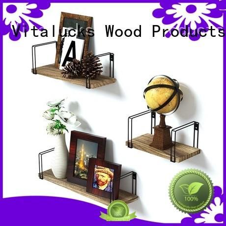 Vitalucks advantageous performance wooden wall shelves living room great technical ability competitive price