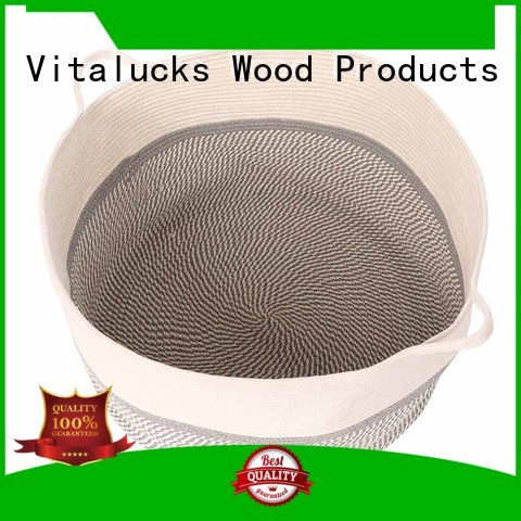 Vitalucks custom beautiful storage baskets fast delivery manufacturing