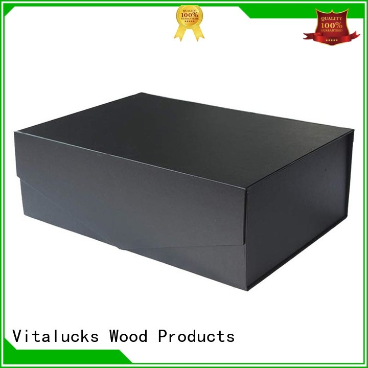 Vitalucks corrugated cardboard packaging boxes wholesale chemical-free free sample