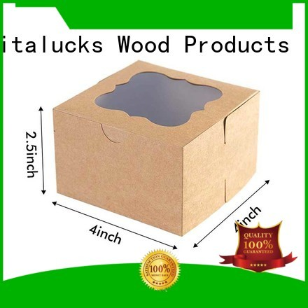 Vitalucks reusable custom cardboard packaging for customization