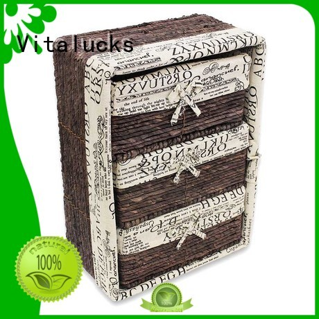 Vitalucks decorative storage baskets quality assured production