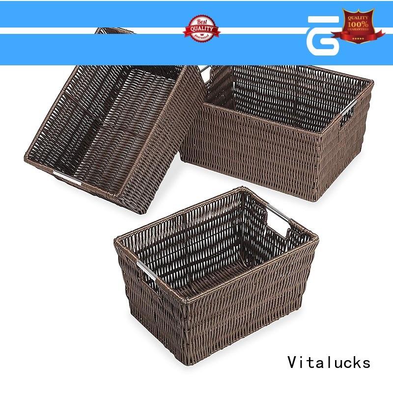clothing basket storage fast delivery Vitalucks