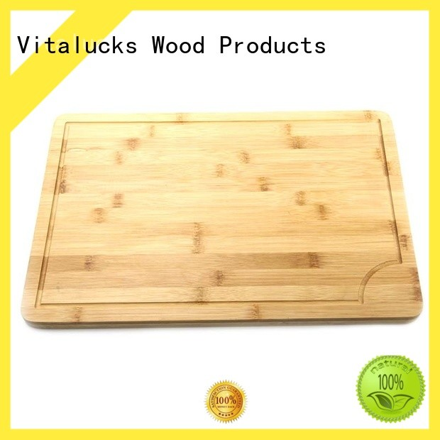 wood cutting board with handle custom for wholesale