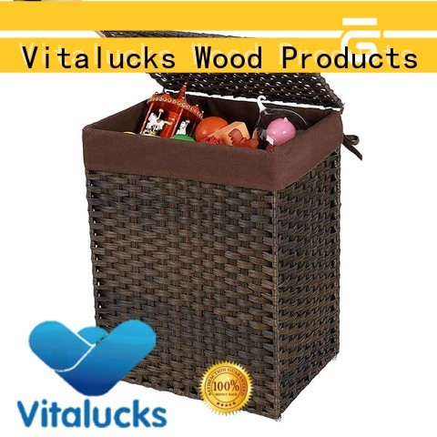 large square wicker baskets popular at discount