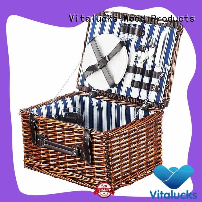 Vitalucks custom basket