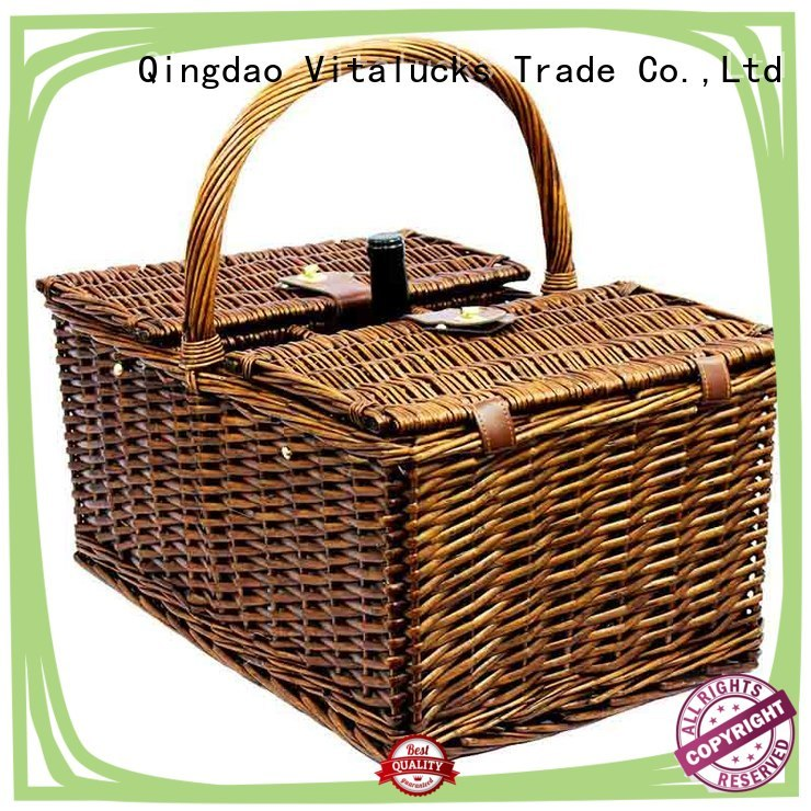 solid square wicker baskets oem&odm fast delivery