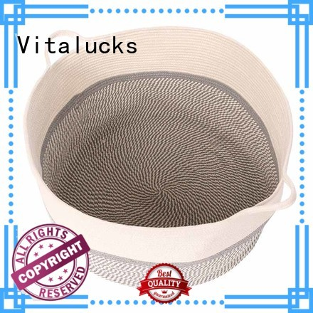 Vitalucks large laundry storage basket multi-functional free -sample