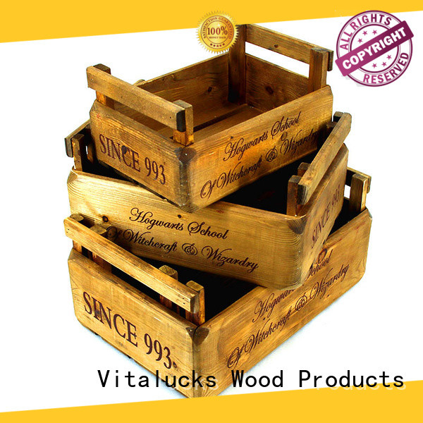 Vitalucks best price wooden crate box top-selling fast delivery