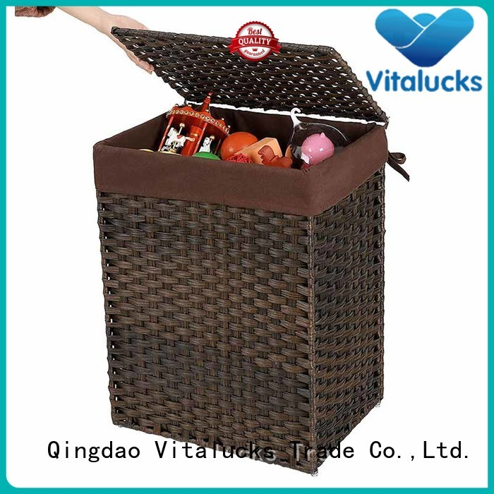 Vitalucks high quality material wholesale baskets manufacturing