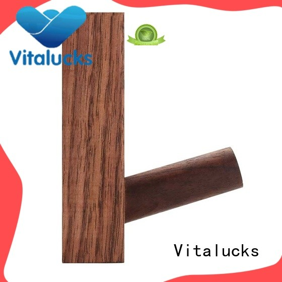 Vitalucks wall mounted wooden shelves for storage