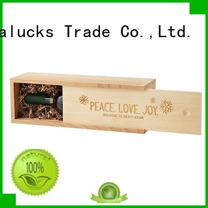 Vitalucks wooden wine box oem&odm for gift