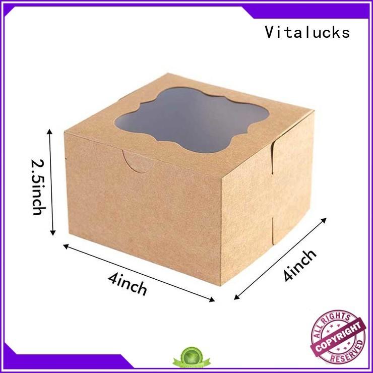 Vitalucks corrugated custom cardboard displays for wholesale
