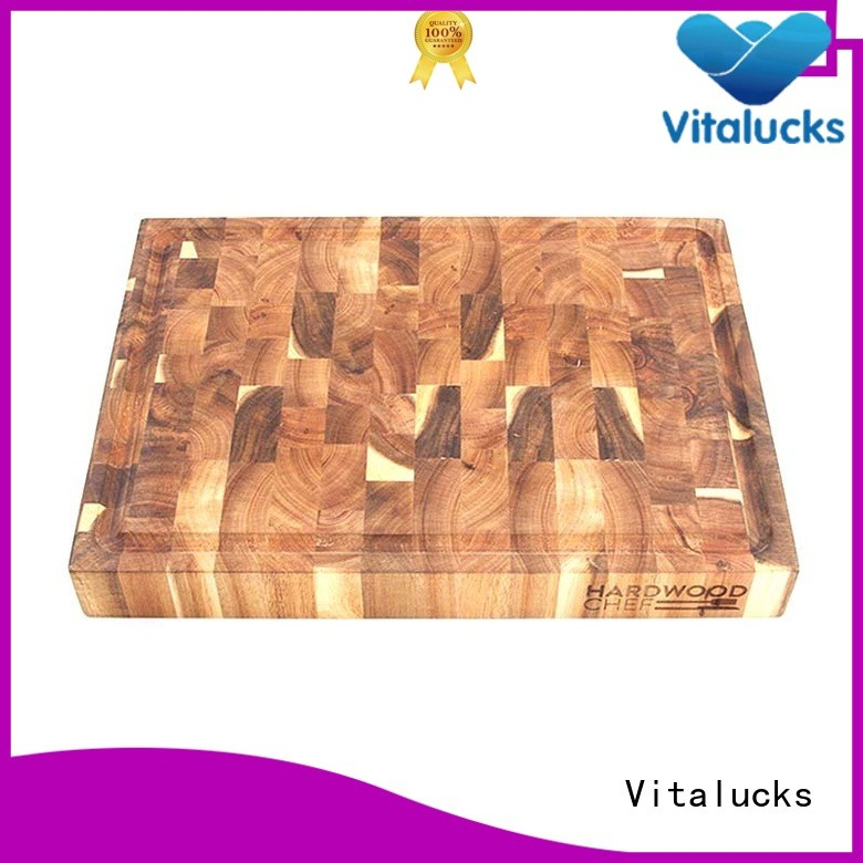 Vitalucks oem&odm wood cutting boards industrial for chopping meat
