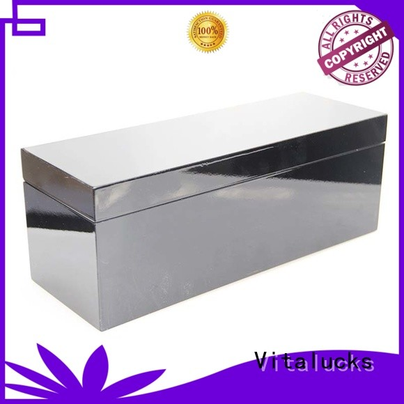 Vitalucks wholesale wine bottle wood box favorable quality bulk supply