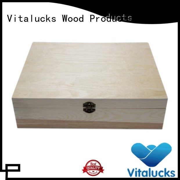 Vitalucks custom custom wooden boxes favorable price latest design